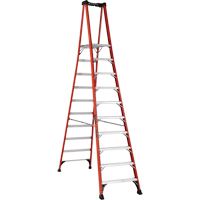 Industrial Extra Heavy-Duty Fibreglass Pro Platform Stepladders (FXP1800 Series) VD419 | Ontario Safety Product