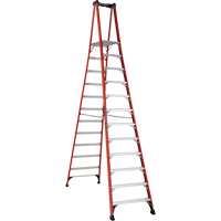 Industrial Extra Heavy-Duty Fibreglass Pro Platform Stepladders (FXP1800 Series) VD420 | Ontario Safety Product