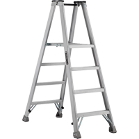Industrial Heavy-Duty Aluminum 2-Way Platform Stepladders (AMP1500 Series) VD422 | Ontario Safety Product