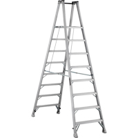 Industrial Heavy-Duty Aluminum 2-Way Platform Stepladders (AMP1500 Series) VD424 | Ontario Safety Product