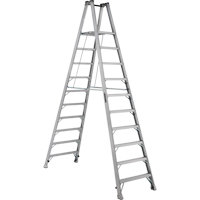 Industrial Heavy-Duty Aluminum 2-Way Platform Stepladders (AMP1500 Series) VD425 | Ontario Safety Product