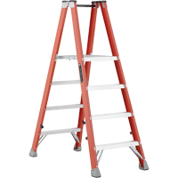 Industrial Heavy-Duty Fibreglass 2-Way Platform Stepladders (FMP1500 Series) VD428 | Ontario Safety Product