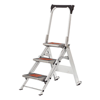Safety Stepladder with Bar & Tray VD432 | Ontario Safety Product