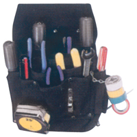 11-Pocket Professional Electrician's Pouches WI969 | Ontario Safety Product