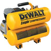 Heavy-Duty 1.1 Max HP 4 Gallon Electric Hand Carry Compressors WK827 | Ontario Safety Product