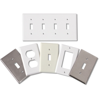 Standard Size Plastic Wallplates XB316 | Ontario Safety Product