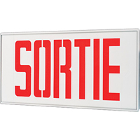 Stella Exit Signs - Sortie XB933 | Ontario Safety Product