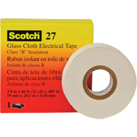 Scotch® 27 Glass Cloth Electrical Tape XC322 | Ontario Safety Product