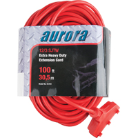 Outdoor Vinyl Triple Tap Extension Cords XC493 | Ontario Safety Product