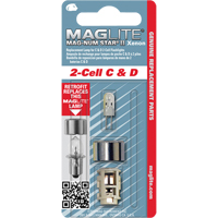 Maglite® Replacement Bulb for 2-Cell C & D Flashlights XC955 | Ontario Safety Product