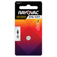 Rayovac® 377 Battery XG862 | Ontario Safety Product