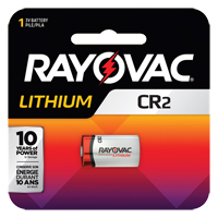 Rayovac® Lithium CR2 Battery XG867 | Ontario Safety Product