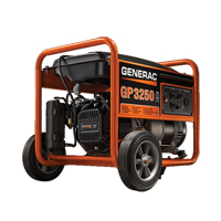 Generac® GP Series 3250 Portable Generator XG886 | Ontario Safety Product