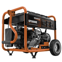 Generac® GP Series 8000E Portable Generator XG887 | Ontario Safety Product