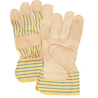 Grain Cowhide Fitters Patch Palm Gloves SAJ497 | Ontario Safety Product